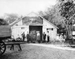 Blacksmith shop in Arlington