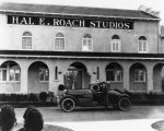Hal Roach at his studios