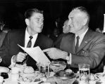 Reagan and Bilheimer at the Biltmore Hotel