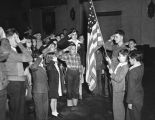 Junior Army members honor Old Glory
