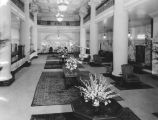 Renovated lobby of Alexandria Hotel