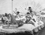 Pacific Telephone float