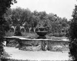 Fountain at San Fernando Mission