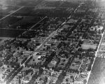 Aerial view of Glendora in 1924