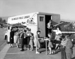 """Little Toot"", Los Angeles Public Library Bookmobile"