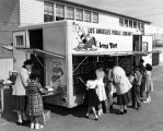 """Little Toot"", Los Angeles Public Library Bookmobile school visit"
