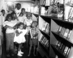 Young readers make their LAPL Bookmobile choices