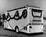 Decorated Los Angeles Public Library Bookmobile