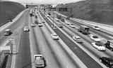 Hollywood - Harbor freeway interchange