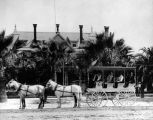 Mayberry Hotel and stagecoach, Hemet