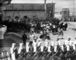 Ceremony at 1928 Pacific Southwest Exposition