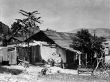 Whitewash adobe home