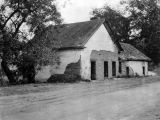 Rancho Los Feliz adobe, early view