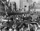Charles Lindbergh parade on Broadway