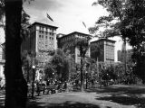 Biltmore Hotel and Pershing Square