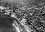 Aerial view of Long Beach