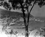 Panoramic view of Avalon Bay  and The Catalina Casino