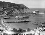 View of Avalon Bay, Catalina Casino and S.S. Catalina