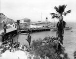 Catalina Casino, S.S. Catalina and passengers