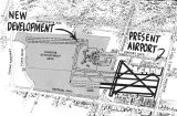 Present facilities & proposed development, a drawing