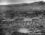 Panoramic view of the San Gabriel Valley