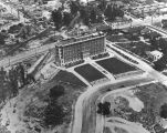 Aerial view of the Osteopathic Hospital