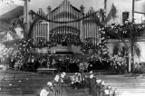 Methodist church organ, Long Beach
