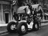 Shriners and their automobiles, view 1