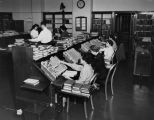 Circulation employees, Los Angeles Public Library