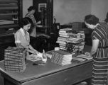 Bindery Department, Los Angeles Public Library
