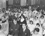Religious ceremony at Plaza Church
