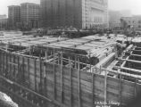 LAPL Central Library construction, view 29