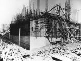LAPL Central Library construction, view 37