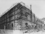 LAPL Central Library construction, southeast corner