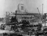 LAPL Central Library construction, view 65