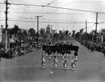Shriners on parade, view 1