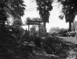 Japanese arbor, Bernheimer Estate