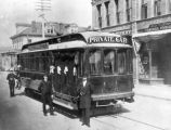 Private funeral streetcar