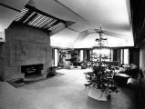 Hollyhock House, living room