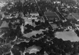 Pomona College, aerial view