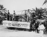 Old Settlers Parade float