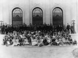 Hollywood High School 1912 student body