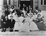 Hollywood High School 1907 graduating class