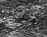 Hollywood aerial view