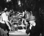 Chess tables at MacArthur Park