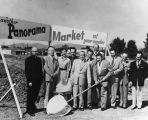 Market groundbreaking, Panorama City