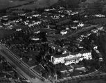 Beverly Hills Hotel, aerial view