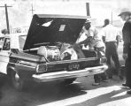 Police recover loot, Watts Riots