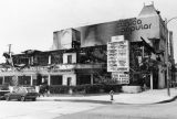 Mini-mall burned during L.A. riots