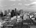 Downtown L.A., panoramic view